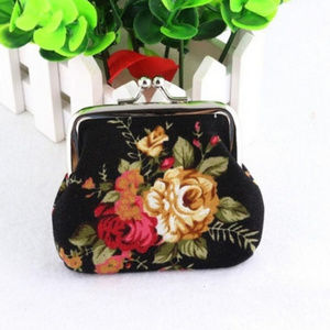 Handbags - Retro Vintage Coin Purse Cute Wallet flowers